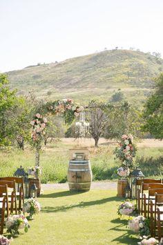 Venue: Hamilton Oaks Winery San Juan Capistrano VIP Events & Weddings Photographer: Erin Hughes Photography Caterer: Confetti Party Rentals Event Coordinator: Jill Fieldhouse Florist:Tustin Florist