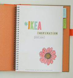 IKEA SMASH Book (title page) by Nancy Nally for Scrapbook Update, as seen on the Creating Keepsakes editors blog. #scrapbook #scrapbooking