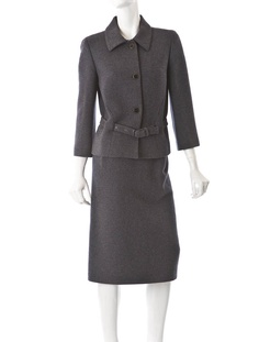 Bottega Veneta Wool Skirt Suit