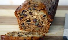 Easy Date Nut Loaf-Katy at Food For The Hungry Soul, found this recipe in the food section of The Boston Globe and gave it rave reviews.