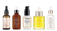 Face oils can do wonders.  * Fight oil with oil. Oil can help manage pore-clogging.  * Oils gives your skin powerful antioxidants & reduce fine lines/wrinkles.  * Oils moisturize, boost radiance, give skin that fresh factor.  * Oils help skin retain moisture & stay hydrated.  Apply ur skin care in order of thickness-thinner formulas goes first.Oil goes after serum but before moisturizer.  ArganOil-Josie Maran/ Seaberry Oil-Fresh/ Vitamin C infused oil-Ole Henrikssen/ Lotus face oil-Clarins