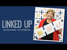 MSQC Tutorial - Linked Up Quilt - Charm pack friendly