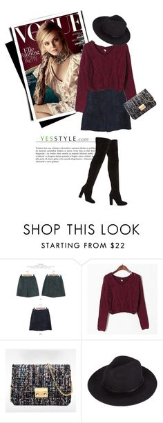 """""""YESSTYLE.com"""" by monmondefou ❤ liked on Polyvore featuring JUSTONE, Honey House, BeiBaoBao, Gianvito Rossi, party, springfashion and yesstyle"""