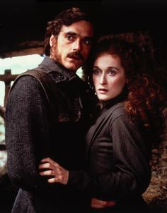 "Jeremy Irons with Meryl Streep in ""The French Lieutenants Woman"""