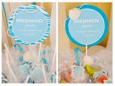 Yarah Designs: Mermaid & Mermen Party.  Well Done!!!