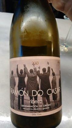 Ramón Do Casar 2013 - DO Ribeiro - Bodega Ramón Do Casar - Vino blanco sin crianza - Treixadura, Albariño y Godello - % Blanco White, White Wine, Drinks, Bottle, White Wines, Drinking, Beverages, Flask, Drink