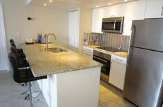 "Kitchen view - Key West Top Floor Condo ""Seaside Breeze"" -Monthly -  - rentals"