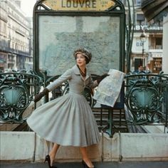 Christian Dior Photoshoot, Paris, 1950s