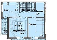 Cданные дома / 2-комн., Краснодар, Дальняя улица, 3 700 000 http://krasnodar-invest.ru/vtorichka/2-komn/realty240404.html  р-н Центральный, Дальняя 4 Л 4.Продам 2х к.кв.в говом 19 этажном монолитно-кирпичном доме в личном м-не города.Прекрасное расположение,развитая инфраструктура - школьные,дошкольные учебные,медицинские уч-я,коммерческие,оздоровительные и развивающие центры, гипер-маркеты,общественный транспорт.В структуру ЖК входят подземные и надземные парковки,спортивные,детские…