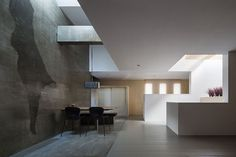 shifting ceilings, sliding partitions, Japan