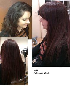 Light Mahogany Brown Hair Color Like. hair colour sleek, gloss