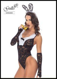 Fantasia Coelha Sabrina - Marca: Sapeka Lingerie - Por: R$ 99,30 ou 4x de R$ 24,83 sem juros • Veja mais detalhes: http://www.gullislingerie.com.br/fantasia-coelha-sabrina.html
