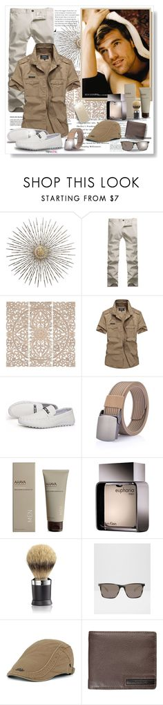 """""""Newchic"""" by asia-12 ❤ liked on Polyvore featuring Home Decorators Collection, Ahava, Calvin Klein, The Art of Shaving, Ted Baker, Speck, men's fashion, menswear and newchic"""