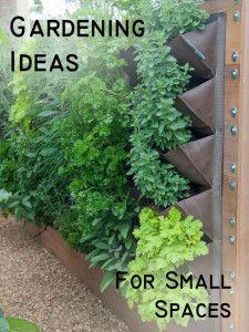 Vertical herb garden for when I make my outdoor kitchen.