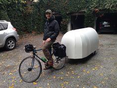 Marco's Bicycle camper - Creative Ideas | Elkins DIY