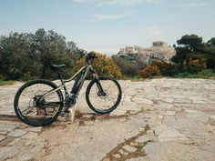 Discover Athens with electric mountain bike