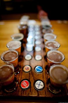 Russian River Beer Flight
