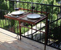 mesas para exterior. Más propuestas en el enlace