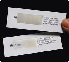 Like it. Creative card.
