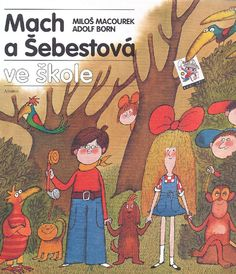 Illustration Adolf Born . Mach and Šebestová