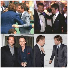 Addicted to Eddie: TBT - Eddie and Bradley Cooper