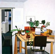 jonas wood painting - Google Search