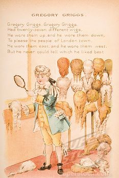 Gregory Griggs From Old Mother Goose Nursery Rhymes Songs
