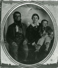 Joseph Cook (1830-1867) with son George William Cook, born 1857