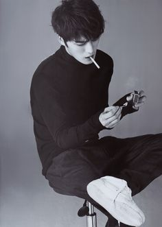 Kim Jaejoong | Harper's Bazaar Magazine (February 2015 Issue)