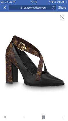 06d142538e708 Louis Vuitton Matchmaker cross pump £740