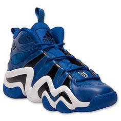 Men's adidas Crazy 8 Basketball Shoes| FinishLine.com | Royal