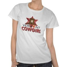 It's country cowgirl time with the Cowgirl States series of t-shirts and gifts from teepossible.com.  This one's for the Vermont Cowgirl, but there's unique designs for all.  Take a look, buy a gift, get one for yourself if you're into country music and the cowgirl life.