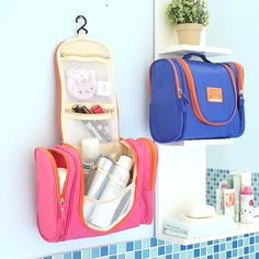 Large waterproof hanging travel mesh man deluxe toiletry bag makeup  organizer wash pouch big women cosmetic bags bulk-in Cosmetic Bags   Cases  from Luggage ... 39d3257757