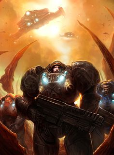Epic StarCraft 2 Fan Art