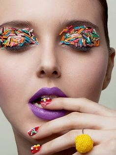 Star Times Forum: ,, ~ × ~ Sweet candy makeup look × ~ ,, ~ Candy Photography, Makeup Photography, Candy Makeup, Eye Candy, Foto Fashion, Candy Art, Candy Theme, Make Up Art, Foto Art