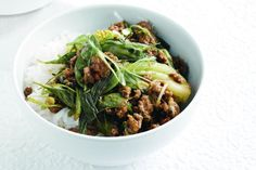 Red curry beef & bok choy stir-fry « Asian Recipes « All Tasty Recipes Veal Recipes, Stir Fry Recipes, Curry Recipes, Asian Recipes, Cooking Recipes, Ethnic Recipes, Paleo Recipes, Free Recipes, Cooking Tips