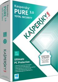 For the ultimate PC security solution, choose Kaspersky PURE 3.0 Total Security. It delivers everything you need to protect your PC – including your #digital #identity and your documents, #photos, music, and #passwords – against the latest, sophisticated malware and Internet threats. With special features that add further layers of protection when you're online shopping or banking, Kaspersky PURE 3.0 also secures your money and your accounts against #cybercriminals.