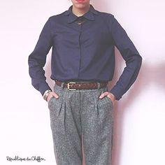 """République du Chiffon """"Margot"""" shirt pattern"""