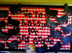 Thanks to @Mandy Schmidt I found this wonderful website full of great ideas for thousands of different bulletin boards!