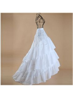 Gorgeous Three Layers Silk Floor Length Wedding Petticoats