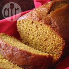 Moist Pumpkin Bread @ allrecipes.co.uk