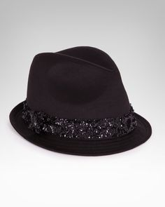 Bebe Sequin Fedora...cute