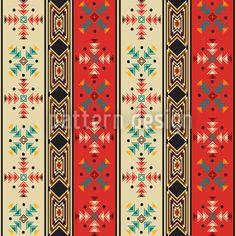 Seamless background pattern with navahostyle motif photo Estilo Navajo, Wall Patterns, Background Patterns, Print Patterns, Geometric Patterns, Stitch Patterns, Le Style Navajo, Vector Pattern, Pattern Art