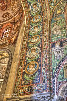 【意大利拉文纳】绝美马赛克教堂深藏不露。Ravenna, Italy by @bjlulu