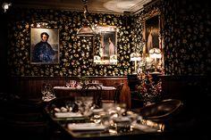 Les plus beaux restaurants deco a Paris : Le Providence par Philippe Medioni