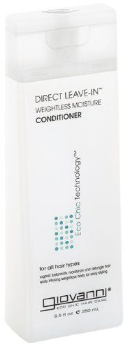 Giovanni Direct Leave-In Conditioner, Weightless Moisture, 8.5-Ounce Containers (Pack of 3)