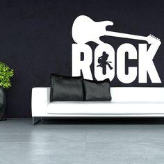 Wandtattoo - Rock
