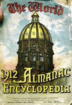 The World Almanac and Encyclopedia 1912