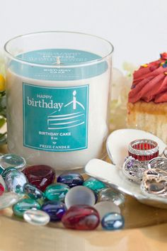Find a ring in every candle l Prize Candle. Great Birthday Gift Idea.