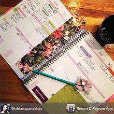 Como você usa e decora o seu Daily Planner? O da nossa cliente @fabianapanachao ficou lindo!  Compre online e receba em casa. paperview.com.br #dailyplanner #meudailyplanner
